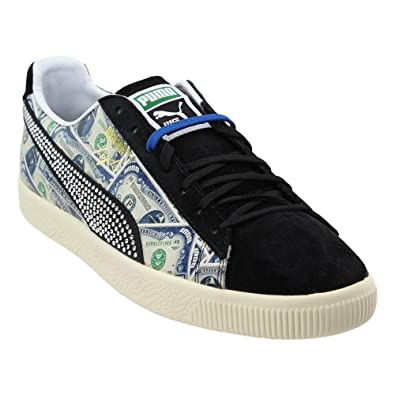 sports shoes 56dc4 9801a Amazon.com | PUMA Clyde X Mita Mens Black Suede Lace Up Lace ...