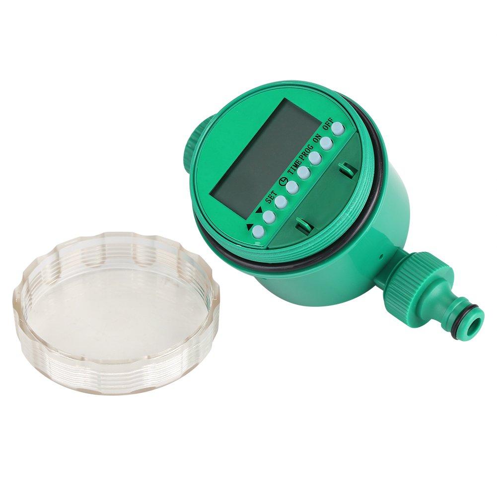 regulador de riego Inteligente Digital Impermeable del Contador de Tiempo del Agua con la Pantalla LCD Regulador de la irrigaci/ón del jard/ín