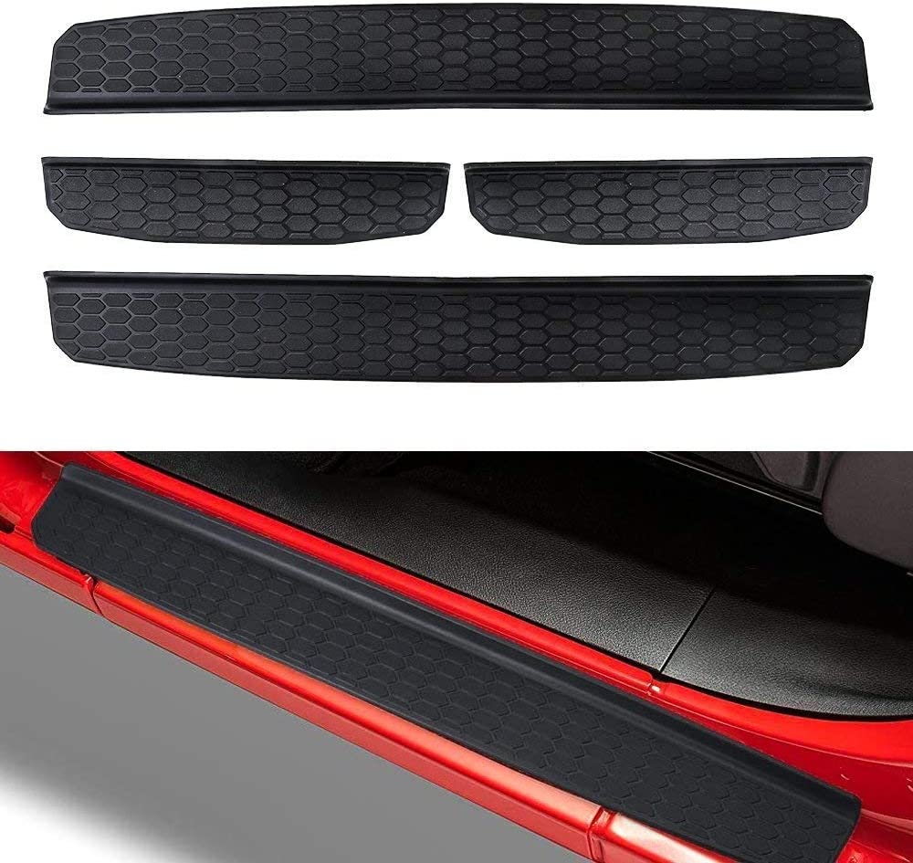 Ansite Jeep Wrangler JL Door Entry Guards for 2018 Jeep Wrangler JL 4-Door Model