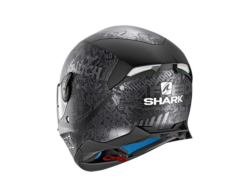 Shark Casque Moto SKWAL 2 SWITCH RIDER 2 MAT KAS Noir Taille M