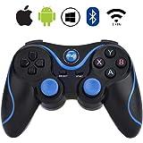 AVEDISTANTE Gamepad Bluetooth con 3 metodos de conexion, Controlador de Juego Inalámbrico Compatible con Computadora, TV, TV Box, Tableta, Smartphone Android, Ps3, PC/Windows 7/8/9/10.