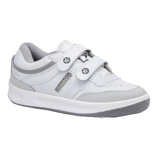 Paredes DP101 BL45 estrella Velcro zapatos de trabajo O1 talla 45 BLANCO