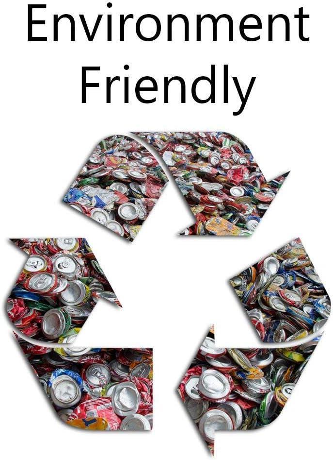 12oz//300ml 500 ML D/écapsuleur BEAUTOP Outil de Recyclage pour canette /à bi/ère /à Fixer au Mur