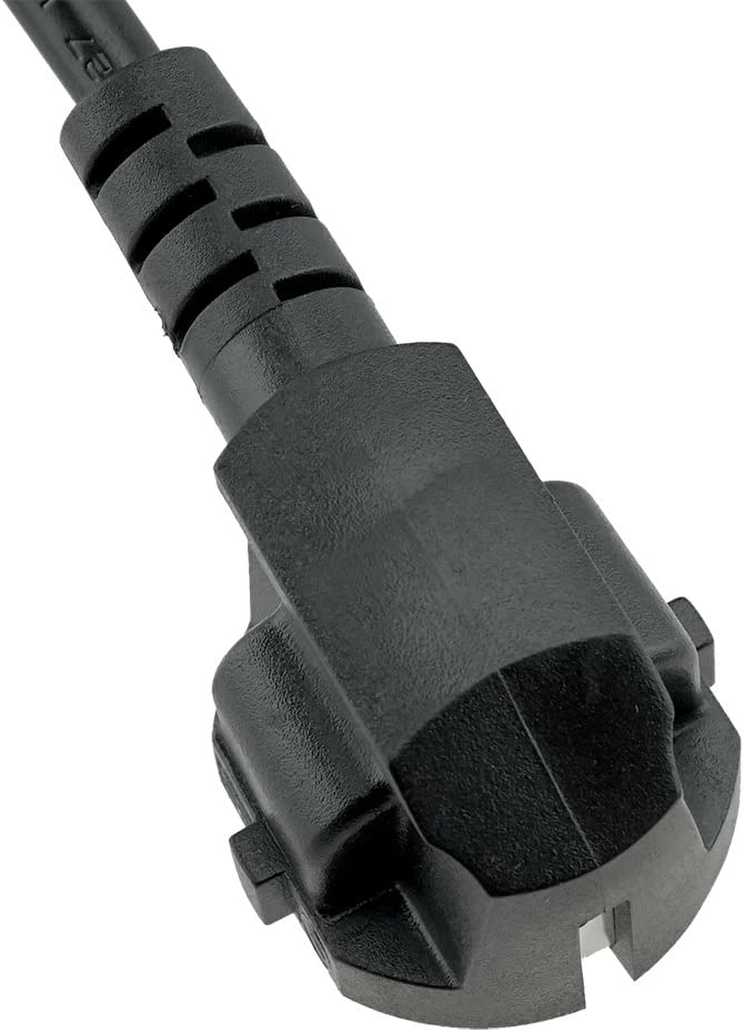 Suitable for use as a Europe PC Computer Power Cord ACP1005 Europe Schuko CEE7//7 Plug to IEC C13 6 Foot Power Cord with VDE Europe Monitor Power Cord or Europe Printer Power Cord. ENEC approvals