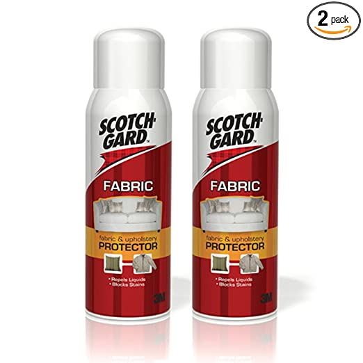 Scotchgard Fabric and Upholstery Protector, 10-Ounce, 2-Pack