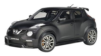 Amazon Com Nissan Juke R 2 0 Matt Black 1 18 Model Car By Autoart