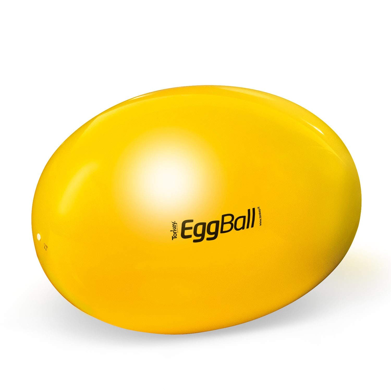 Pezzi Original Eggball Standard di/ámetro de 45 cm hasta 85 cm, Ovalada, soporta hasta 400 kg Pelota de Gimnasia