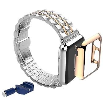 Amazon.com: autumnfall® Acero inoxidable Correa reloj Band + ...