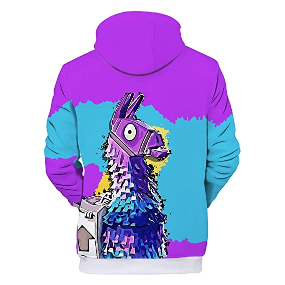 Amazon.com: 3D Digital Printing Couple Hoodies Game Style Round Collar Sweatshirts with Pockets.: Clothing