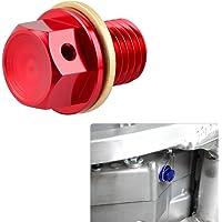 H2Racing M12 Magnético Drenaje de aceite Tuercas tornillos