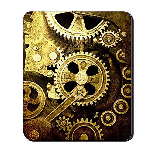 CafePress - IPAD STEAMPUNK - Non-slip Rubber Mousepad, Gaming Mouse Pad