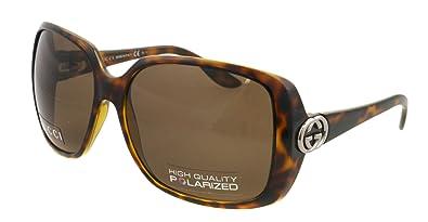 23c6e2ab269 Amazon.com  Gucci Sunglasses GG 3166 S HAVANA 791SP GG3166 S  Gucci ...