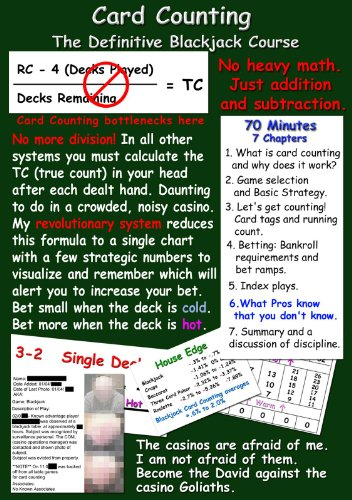 - Card Counting - The Definitive Blackjack Course