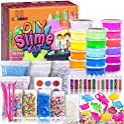 MOOHAM DIY Clear Crystal Slime Kit Supplies