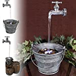 Sunnydaze Floating Faucet Fountain - Options