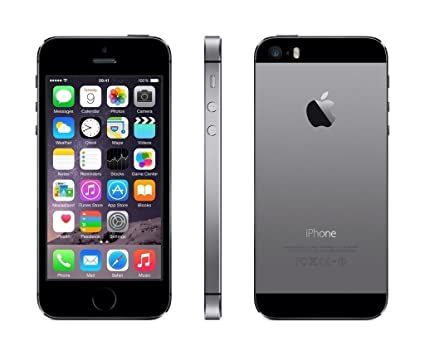 63fa0680cb7 Apple iPhone 5S Gris Espacial 16GB Smartphone Libre (Reacondicionado  Certificado)