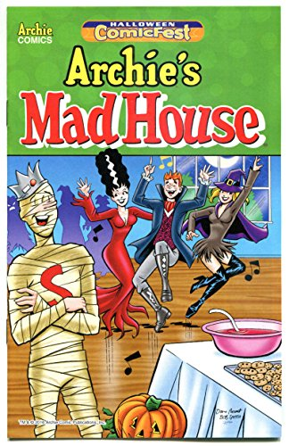 ARCHIE MAD HOUSE #1 Halloween ashcan, Promo, 2016, NM, more promos in store]()