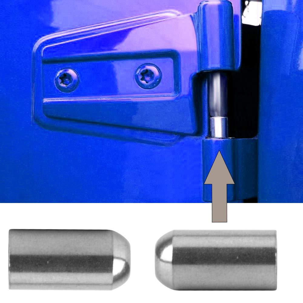Fits Jeep Wrangler Door Pin Guides for JK JKU JL TJ 1997 to 2018 JoyTutus