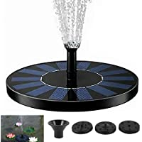 Solar Fountain Water Pump Bird Bath Powered Panel Spray Head Solar Powered Free Standing Floating Water Pump Kit for…