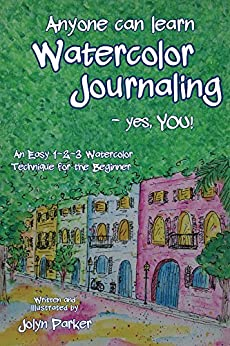 Anyone Can Learn Watercolor Journaling ebook product image