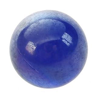 Cikuso 10 pz Marmi biglie Vetro 16mm Giocattoli Decorazione Sfere di Vetro di Knicker - Blu Scuro