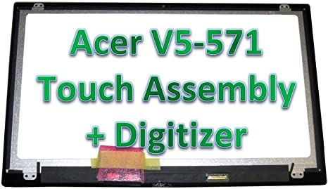 """Acer ASPIRE V5-571P-6407 15.6/"""" LCD LED Screen Display Panel Touch"""