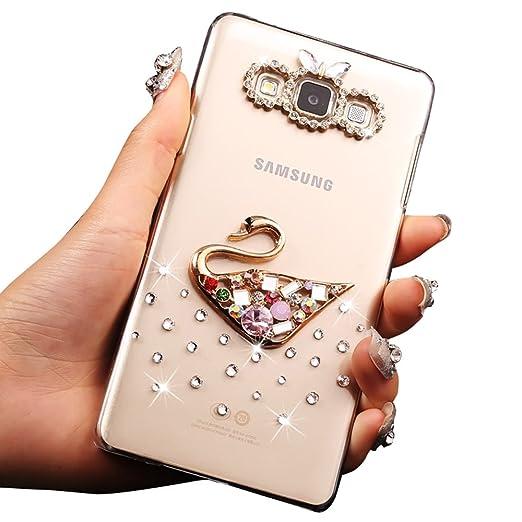 4 opinioni per Sunroyal® Ultra Sottile Bling Hard Duro Back Custodia in PC Plastica per Samsung