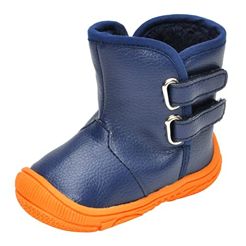 hot product multiple colors official images Weixinbuy Infant Baby Boy's Water Proof Anti-Slip Winter Warm Snow Boot  Shoes