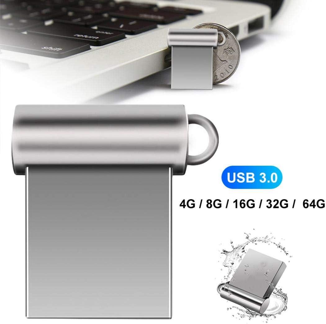 Mini Portable U Disks Memory Stick Pen 4G 8G 16G 32G 64G USB 3.0 Flash Drives 4GB