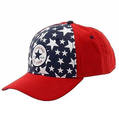 Converse - Gorra de béisbol - para Hombre Red Navy Blau: Amazon.es ...