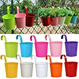 Yaheetech Paint Cups in 10 Colors Metal Iron