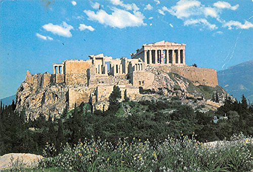 Acropolis Athens Greece View - View of the Acropolis Athens Greece, Grece Postcard