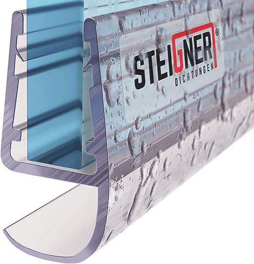 STEIGNER 190cm Joint d/étanch/éit/é de remplacement pour les vitres d/'une /épaisseur 3,5mm// 4mm// 5mm UK13