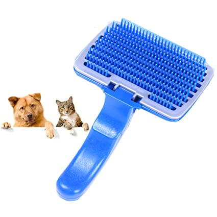 HLDUYIN Cepillo para Perros y Cepillo para Gatos: Mascota, Tipo de un Toque,
