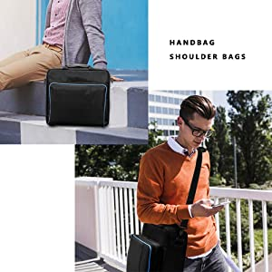 PS4 Carrying Case, Hopopower Customized Waterproof PS4 Travel Storage handbag/shoulder bag for PS4 System and Accessories