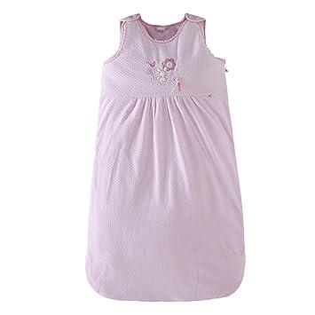 Saco de Dormir Bebe 0-3 Meses - Recién Nacido Saco de Dormir 2.5 Tog Lindo Manta de Bebé Sin Mangas,Rosa: Amazon.es: Bebé