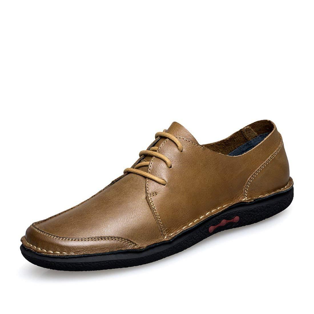 Herren Oxfords-Style Gummisohle Khaki Fashion Turnschuhe UK 5.5 (Farbe   -, Größe   -)