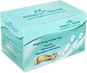 25 Pack Easy@Home Single Panel Drug Tests to Test Cocaine(COC) - 25 Counts #EDCO-114