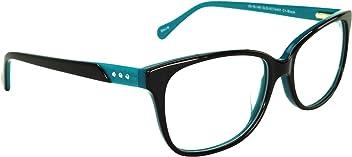 bffbcc608a0 Womens Cateye Prescription Rxable Eyeglasses Frames Size 53-16-140-39 in  Black