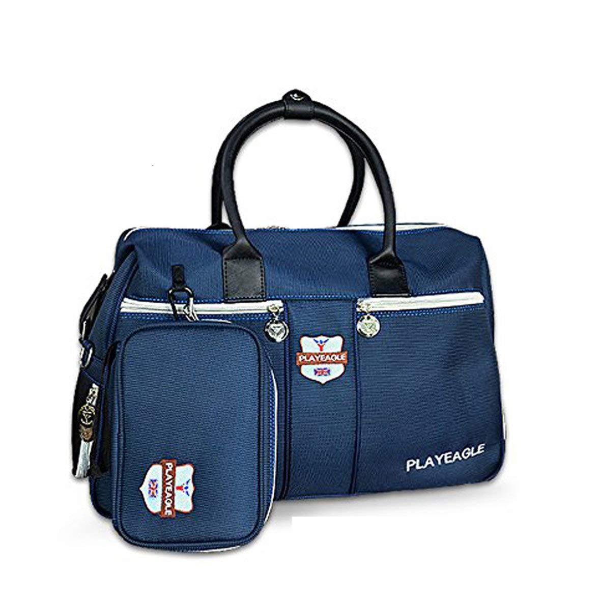 playeagle新しい防水ナイロンゴルフClothingバッグwith靴パッケージゴルフボストンバッグスポーツ旅行バッグ大容量(ブルー)   B079KCSLSN