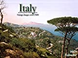 Italy 2018 Calendar: Vintage Images circa 1900