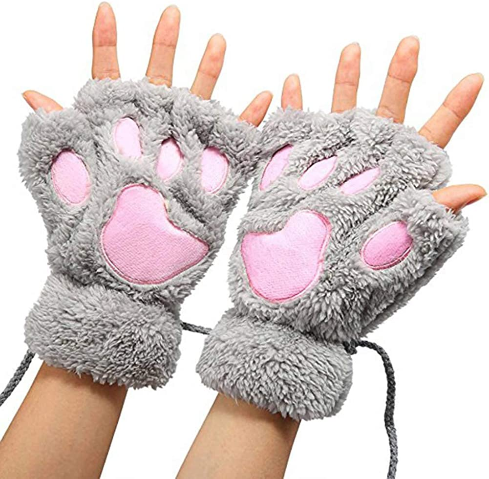 Glove Us Women Men Knitted...