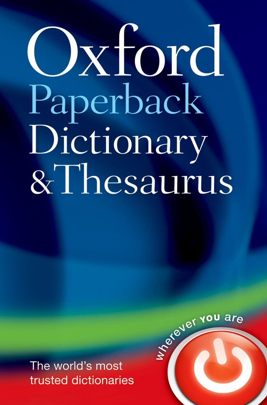 amazon oxford paperback dictionary and thesaurus dictionary