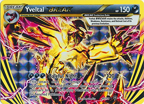 Pokemon - Yveltal BREAK (66/114) - XY Steam Siege - -