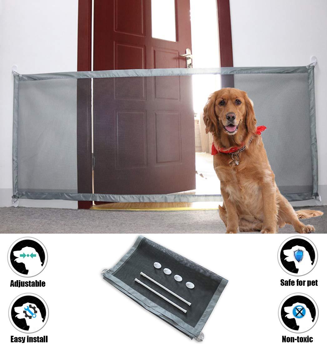 Amazon Com 70 9 Quot X28 3 Quot Magic Gate For Dogs Pet Gate