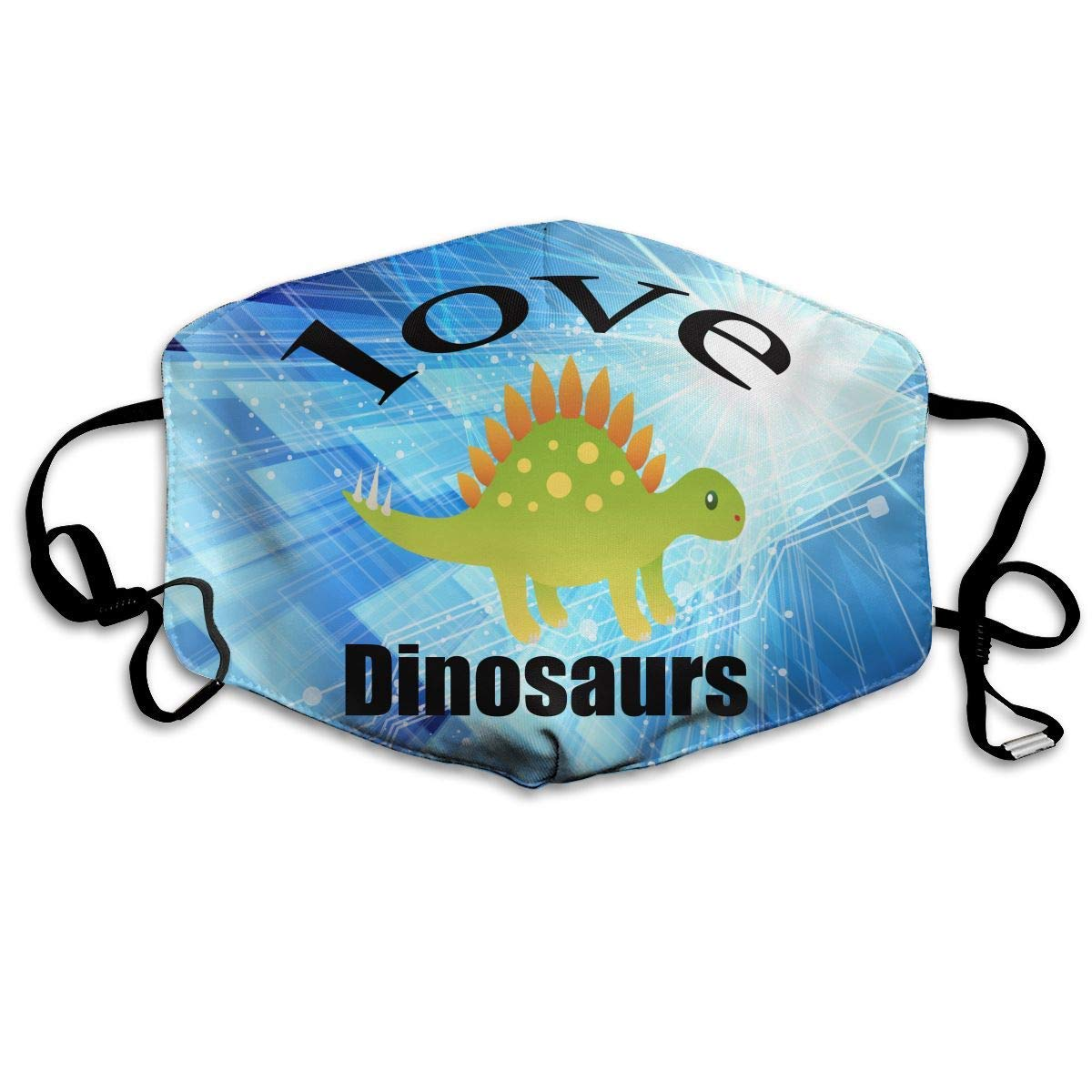 Xdevrbk Windproof Dust Protection Balaclava Full Face Mask Love Dinosaurs Mouth Mask Unisex4