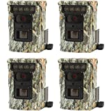 Browning Trail Cameras Defender 850 120 20MP FHD Bluetooth Game Camera, 4 Pack