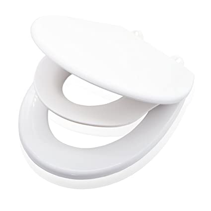 Valneo Family Toilet Seat With Child Seat Made Of Sturdy Plastics