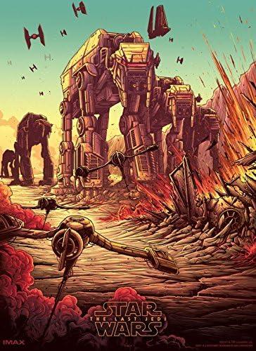 STAR WARS; THE LAST JEDI Movie PHOTO Print POSTER IMAX Film Art 4of4 LTD EDN 004