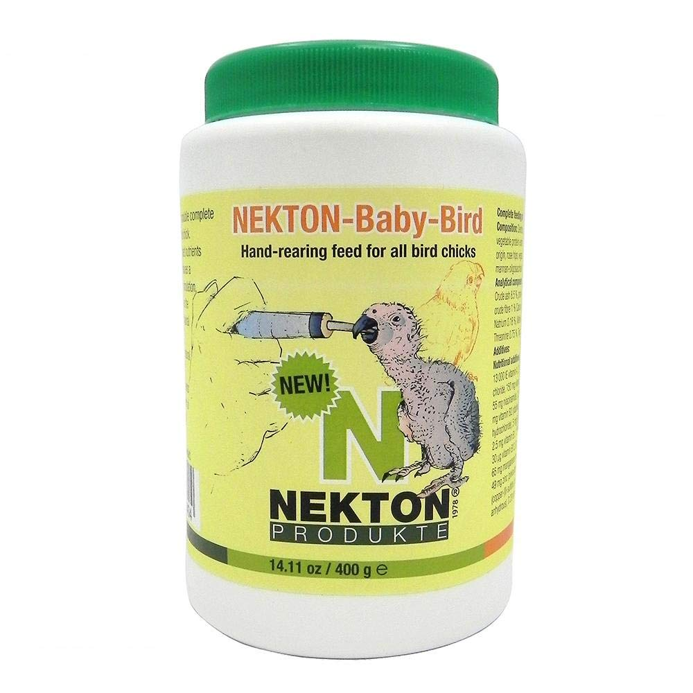 400g Nekton 2520400 Nekton-Baby-Bird Handfeeding Formula for Birds, 400g